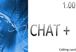 Buy Chat Plus 1.00 phone card